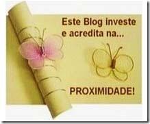 Proximidade award to this blog