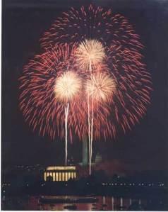 Fireworks in WA D.C.