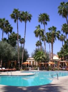 Hotel Scottsdale pool, 2008.  Talk about paradise!