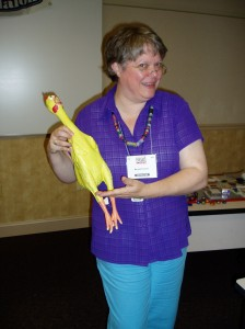 Meredith and Hatch, Bead Fest 2008.