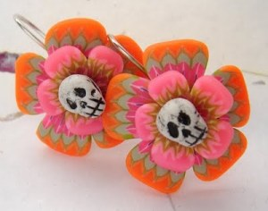 Marie Segal's 7th Giveaway: Halloween earrings!