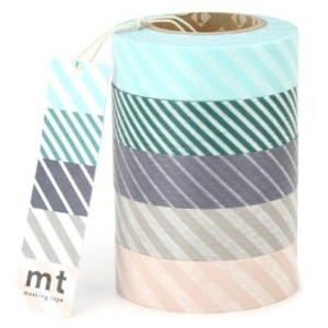 Gorgeous striped Washi masking tape.