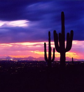 Tucson at Sunset.