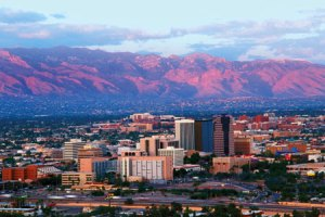 A typical view of Tucson.